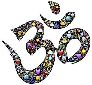 spiritual life - ohm symbol